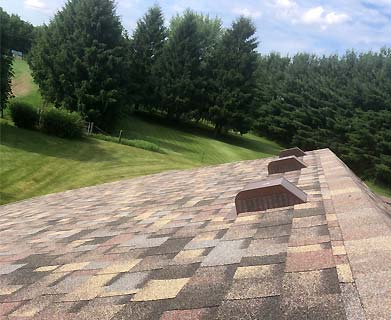Aaby Roofing custom roof