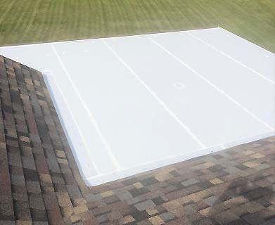 Aaby Roofing photos with sun exposure